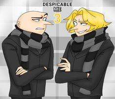 Despicable Me Gru, Anime, Ship, Movies, Fictional Characters, Despicable Me, Delicious Food, Guys, Films