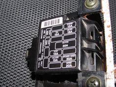 interior fuse box location 1990 1997 mazda miata 1993 mazda miata rh pinterest com 1995 mazda miata fuse box location NA Miata Fuse Box Diagram