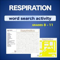 Warm up bell ringer constellations of zodiac word search respiration this word search on respiration helps students familiarize and reinforce vocabulary terms and spelling urtaz Images