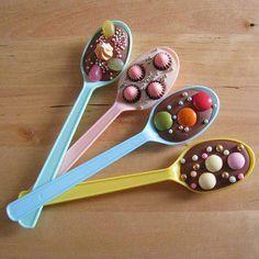 #chocolate spoon