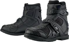 Field Armor 2 Boot - Black | Products | Ride Icon