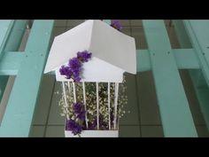 ¡Haz Jaulas decorativas súper fácil ! - YouTube