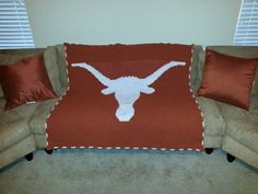 Crochet Pattern For Texas Longhorn Afghan : Crochet stuff on Pinterest 106 Pins