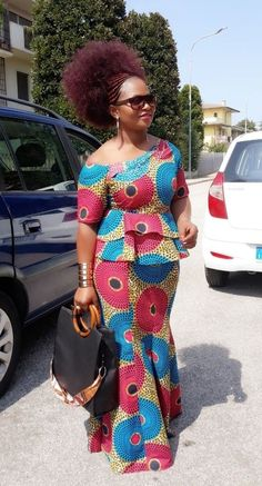 Hello, There are some ankara gowns that you would like just when you see them. These ankara styles are so lovely and good. Checkout these outstanding ankara gown styles below and enjoy your day. African Fashion Ankara, Latest African Fashion Dresses, African Print Dresses, African Print Fashion, Africa Fashion, African Dress, Ankara Gown Styles, Latest Ankara Styles, Ankara Gowns