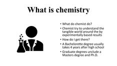 Bachelorette Degree, What Is Chemistry, Graduate Degree, After High School, How Do I Get
