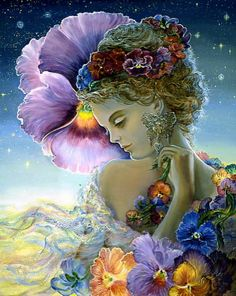 Surreal art by Josephine Wall
