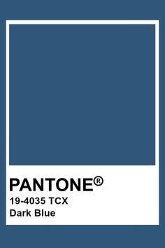 Pantone Dark Blue