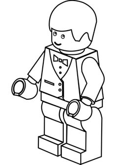 lego man coloring pages to print   Movie   Pinterest   Lego men
