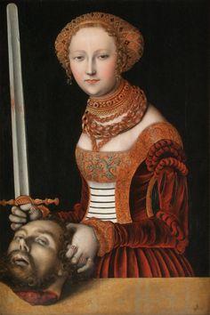 ConSentido Propio: Las mujeres de Lucas Cranach d. Ä.: (1) Eva (y Adán), Judith, Salomé