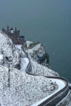 Lighthouse in Snow, Llandudno, Wales, United Kingdom by AdarglasPhotos Beautiful World, Beautiful Places, Snow Pictures, Wanderlust, Thinking Day, Winter Scenes, Great Britain, Wonders Of The World, Places To See