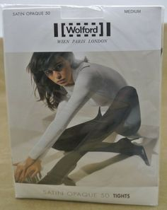 Pantyhose & Tights Special Section Vintage Pantyhose 4 Packages Nos Navy Brown Off White Up To 150 Lbs Attractive Designs;