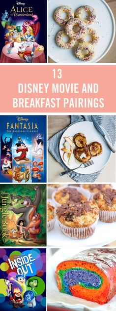 If there are two things we love most in this world they're Disney movies and breakfast food, so we've rounded up the perfect pairings. These delicious dishes will go perfectly with your favorite flicks. -Watch Free Latest Movies Online on Disney Dinner, Disney Day, Disney Food, Disney Movies, Disney Recipes, Disney Desserts, Disney Family, Disney Drinks, Disney Mugs