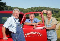 The Three Amigos Of Moonshine.