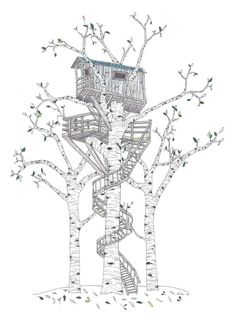Treehouse 5 Illustration