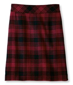 Andover Skirt: Skirts | Free Shipping at L.L.Bean -love plaid skirts for fall and winter
