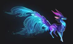 mystical animals at DuckDuckGo Mystical Animals, Mythical Creatures Art, Mythological Creatures, Cute Creatures, Magical Creatures, Beautiful Creatures, Creature Drawings, Animal Drawings, Cool Drawings