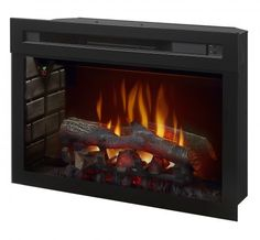 "Dimplex - Home Page » Fireplaces » Fireboxes » Products » 25"" Multi-Fire XD Electric Firebox"