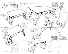 furniture by Michael DiTullo at Coroflot.com