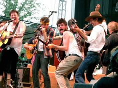 "This is why they call him ""Country""... Mumford and Sons, Old Crow Medicine Show and friends, performing their encore, ""Amazing Grace"" at Bonnaroo 2011. Best performance I have seen thus far... in my life? Quite possibly."