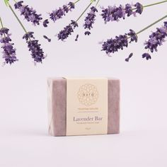 Lavender Soap Bar for all skin types.  Skin Care. Natural Skin Care. Natural Products.