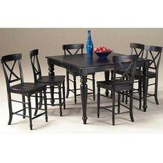 Kingston 7 Piece Counter Height Set Nebraska Furniture Mart Dining Room Tables Pinterest