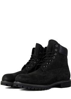 78acb6f5700d Black Nubuck 6-Inch Premium Boot