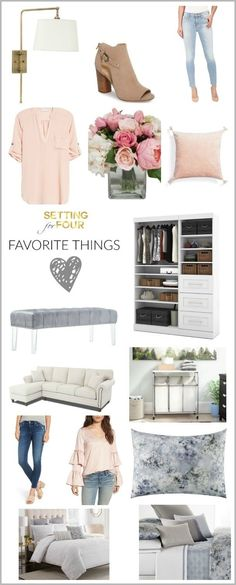 Favorite Things For The Home Fashion Beauty