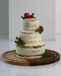 Naked wedding cake   Sweet Corner Zeist