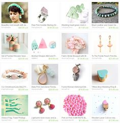 Mint and Pink Treasury by Katarzyna http://www.etsy.com/treasury/MjA4NzgxNDh8MjcyNDgwMTU2Mg/mint-and-pink