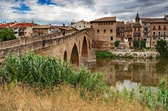 Puente La Reina, Pamplona, Navarra
