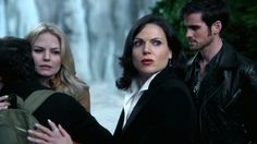 "Emma, Henry, Regina and Hook - 4 * 9 ""The Fall"" #ShatteredSight #OnceisFrozen"