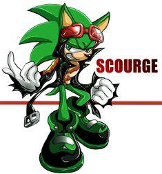 Scourge the Hedgehog by ka1513-2 on DeviantArt
