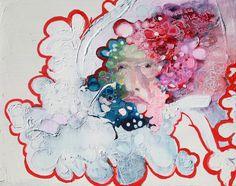 "Saatchi Online Artist: Anna Bergin; Oil, 2012, Painting ""Georgia, Ex-Thought"""
