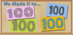 Cute 100 day of school activity