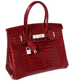 Diamond Birkin bag by Hermès