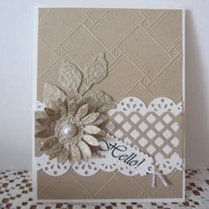 Hello! by shendrian - Cards and Paper Crafts at Splitcoaststampers