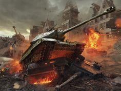 World of Tanks Game HD Desktop Wallpaper