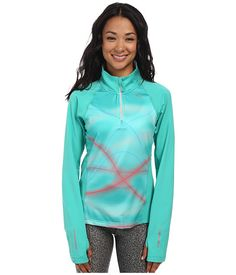 $59.99 ~ PUMA Pr Graphic 1Up L/S 1/2 Zip Top