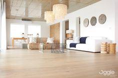 Floor Specification Type: Oggie FSC European Oak Legno Living  Thickness: 15/4mm Width: 190mm Length: 1900mm Finish: Woca Denmark Extra White Oils