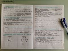 study-side-up: // Sunday April 2015 Switching back to Chemistry. Doing Covalent Chemistry now. Getting there slowly but surely ☺️ // someday I wish my notes will look this nice College Notes, School Notes, Neat Handwriting, Improve Handwriting, School Organization Notes, School Study Tips, Pretty Notes, Study Help, Study Inspiration
