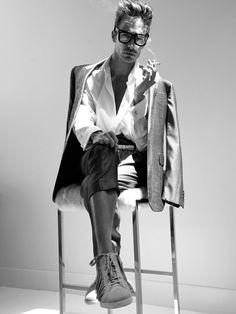 men's fashion & style - Nick Steele by Tony Duran