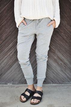 The Perfect Sweatpants Grey | ascot + hart
