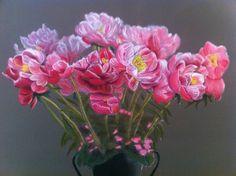 Pas à pas : Bégonias au pastel par l'artiste Patricia Soulier | Retrouvez le tuto complet sur l'Atelier Géant