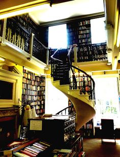 Bromley House Library, Nottingham, England.