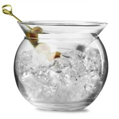 UPDATE: Set of 4 stemless martini glasses each is 10 cm x 10 cm [in box]