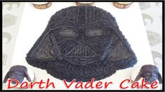 Darth Vader Cake Using a Wilton Pan (How to)