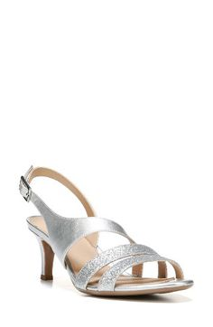Free shipping and returns on Naturalizer 'Tami' Sandal (Women) at Nordstrom.com. Asymmetrical straps define a stylish sandal set on a versatile mid heel.