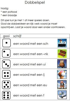 down syndroom Wall Art chanel wall art Speech Language Therapy, Speech And Language, Play To Learn, Learn To Read, Learn Dutch, I Love School, Spelling Activities, Teacher Inspiration, School Items