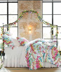 Dream away in this enchanting sleep space.