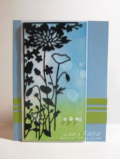 Floral Card for Spring (Outside The Box - Dave Beathauer)